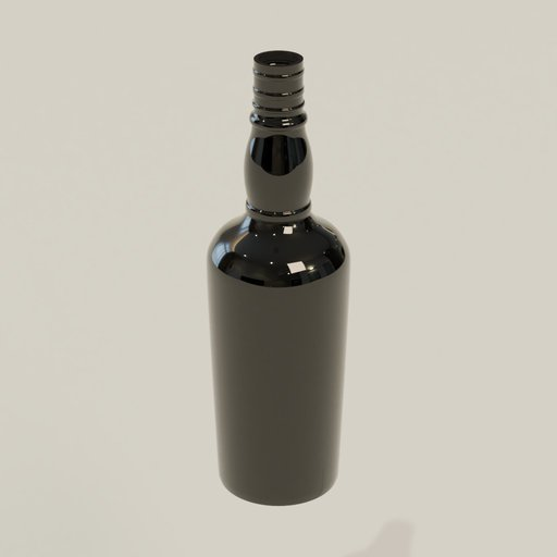 Thumbnail: Empty bottle 1.75l dark