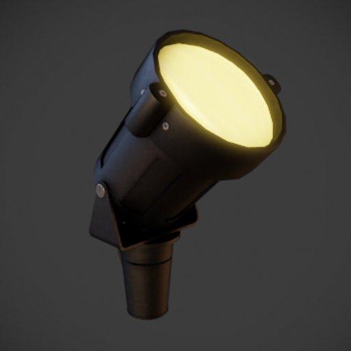 Thumbnail: Spotlight lamp