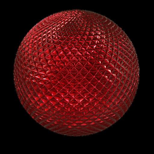 Thumbnail: Carlight triangle chrome red