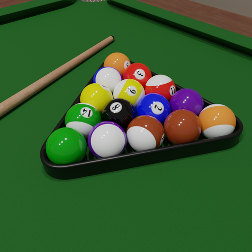 Thumbnail: Pool balls set