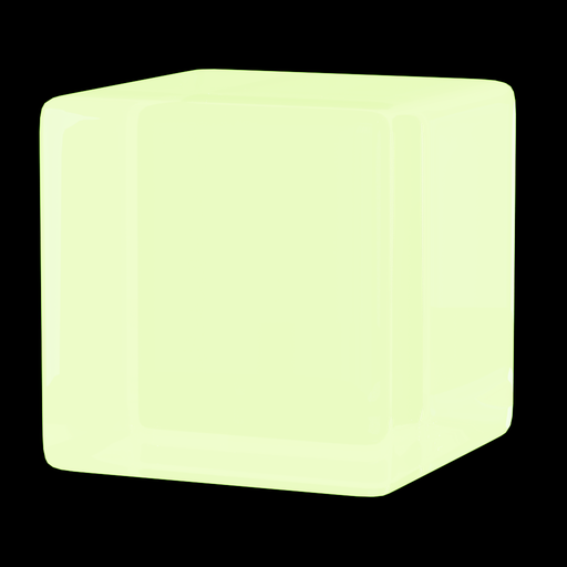 Thumbnail: Glowing glass green