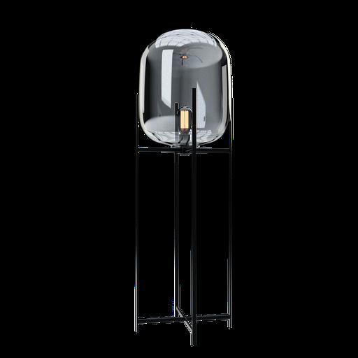 Thumbnail: Glass floor lamp