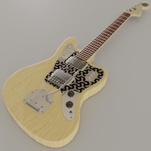 Fender Jaguar Guitar by DJH