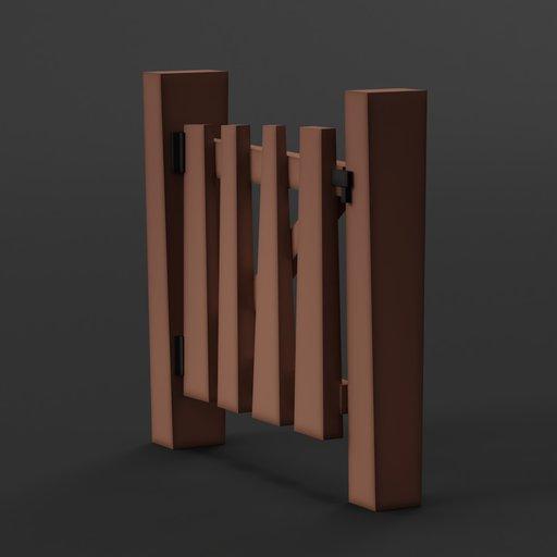 Thumbnail: Cubic Worlds - Wooden Gate