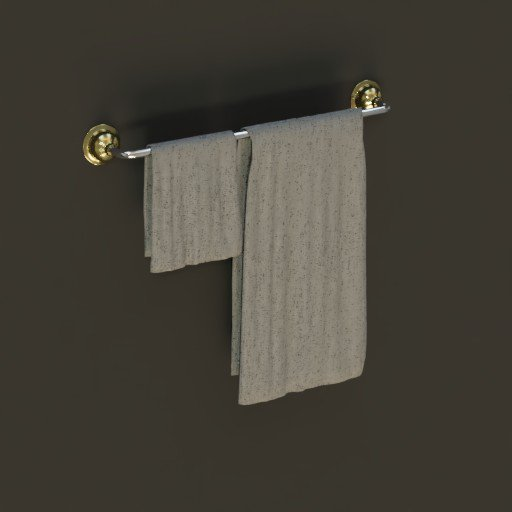 Antique Bathroom Towel Rail