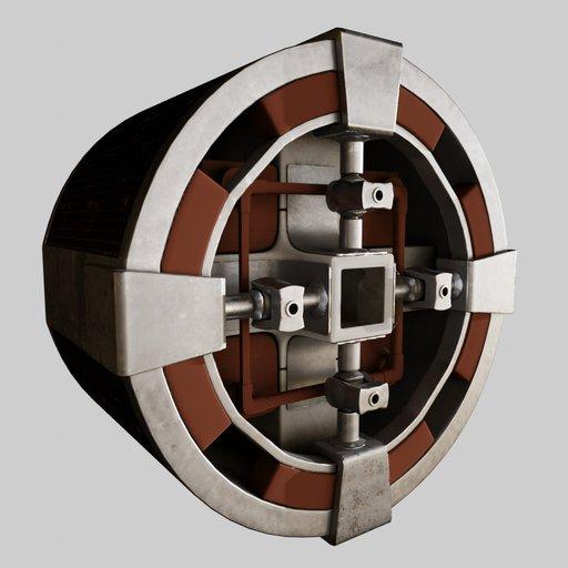 Thumbnail: Cylindrical Spaceship