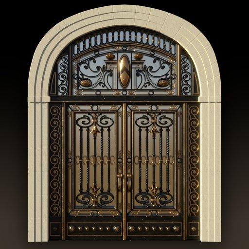 Art Nouveau Main Gate