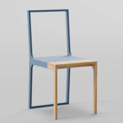 Thumbnail: Modern Design Chair 42x52x90