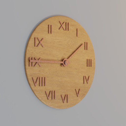 Thumbnail: big wooden clock