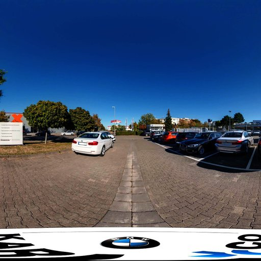 Thumbnail: Car Parking Spot Hechtsheim HDRI