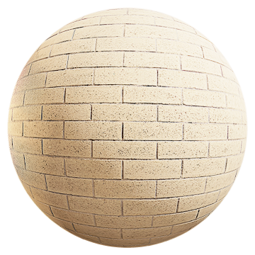 Thumbnail: Rough Cream Brick Wall