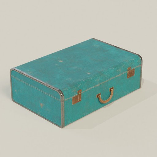 Thumbnail: Old suitcase ver05
