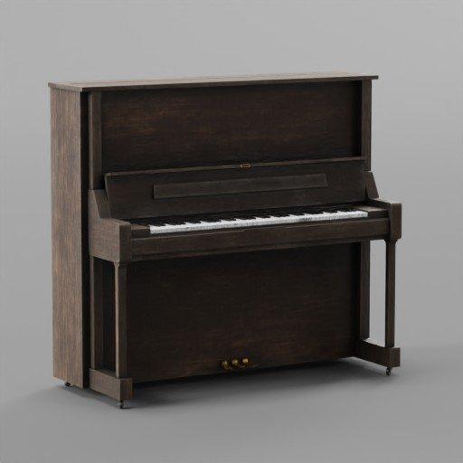 Thumbnail: Old Wooden Piano