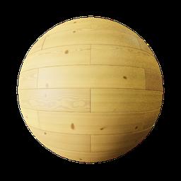 Thumbnail: tiled pine wood
