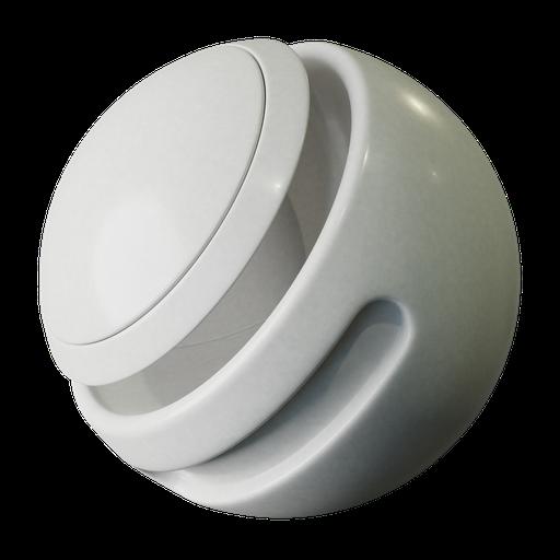 Thumbnail: Gray white plastic