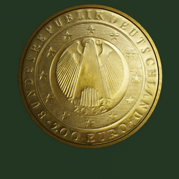 Thumbnail: Euro Coin, 200 Euro