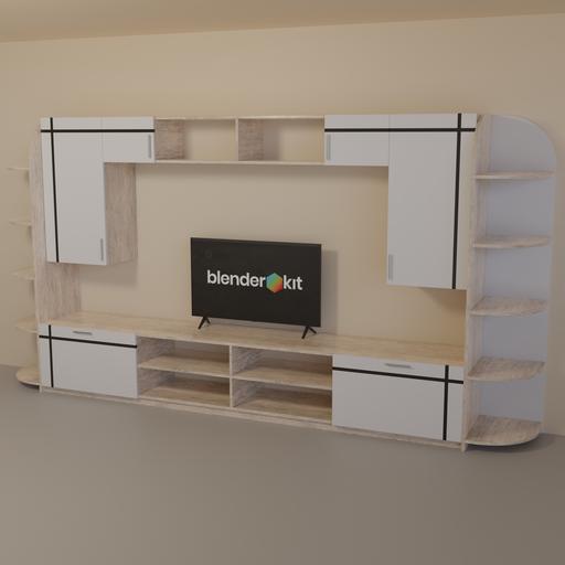 Thumbnail: Living room wall set