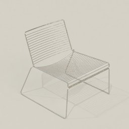 Thumbnail: Metal chair