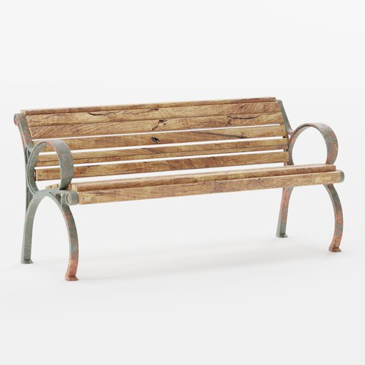 Thumbnail: Old Bench