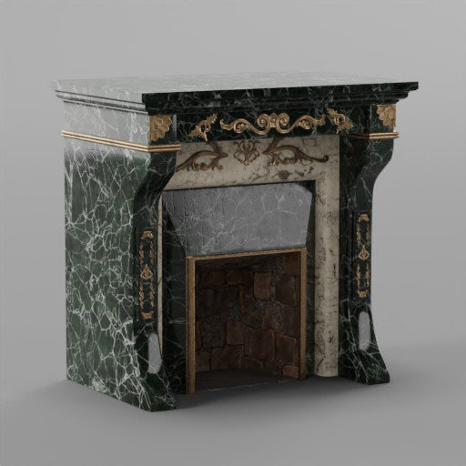 Thumbnail: Rococo Fireplace