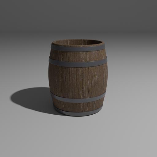 Thumbnail: Wooden barrel
