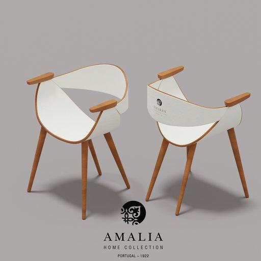 AVE dinning chair (AMALIA white)