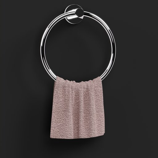 Thumbnail: Round Towel Hanger