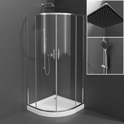 Thumbnail: Corner shower
