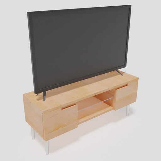 "TV 50"" With Table"