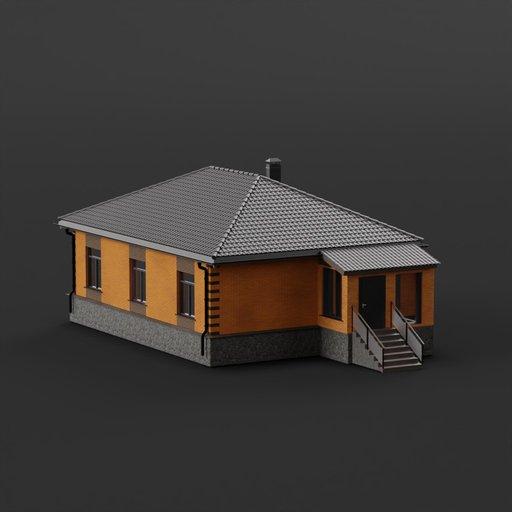 Brick small house