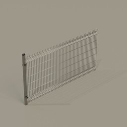 Thumbnail: Rigid panel fence 2,5m (corner)