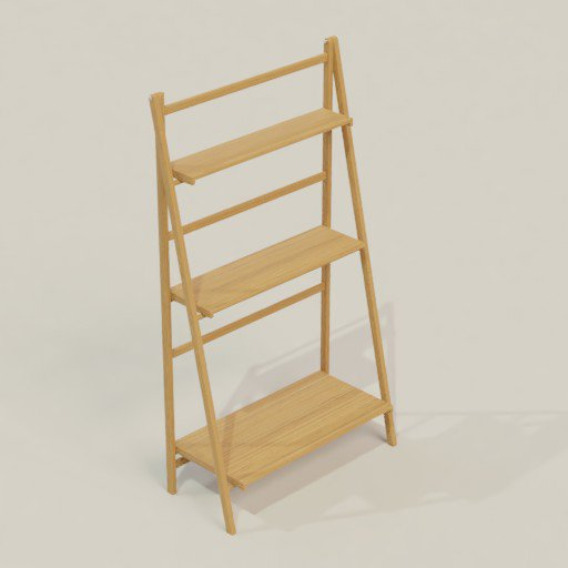 Thumbnail: Rack Shelving Bookcase 112 x 50 x 200