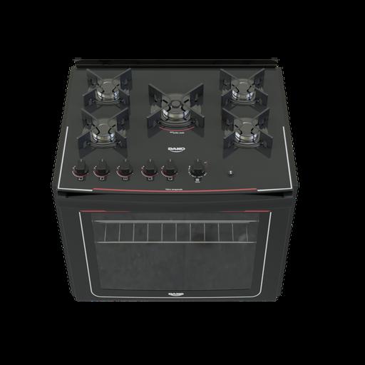 Built-in stove 5 burners Dako