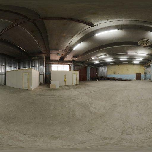 Empty Warehouse 01
