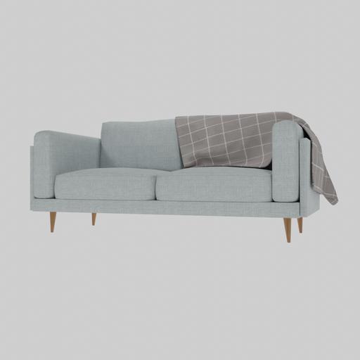 Thumbnail: Contemporary 3 Seater Sofa