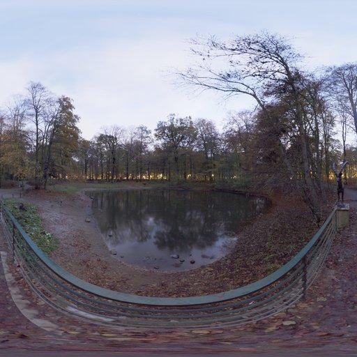 Thumbnail: Pond Bridge Night