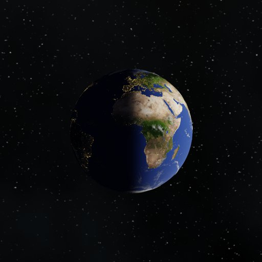 Earth with 8K Textures