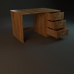 Thumbnail: Wooden desk