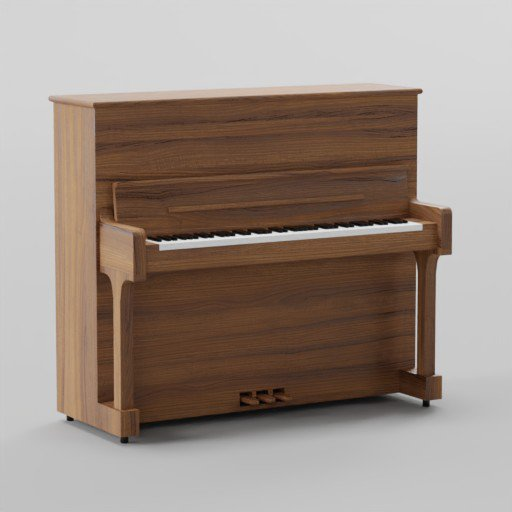 Thumbnail: Steinway Upright Piano - Model K