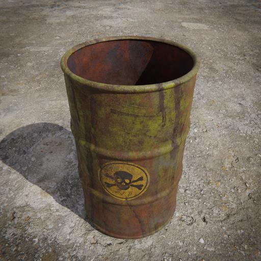 Toxic Barrel - Yellow
