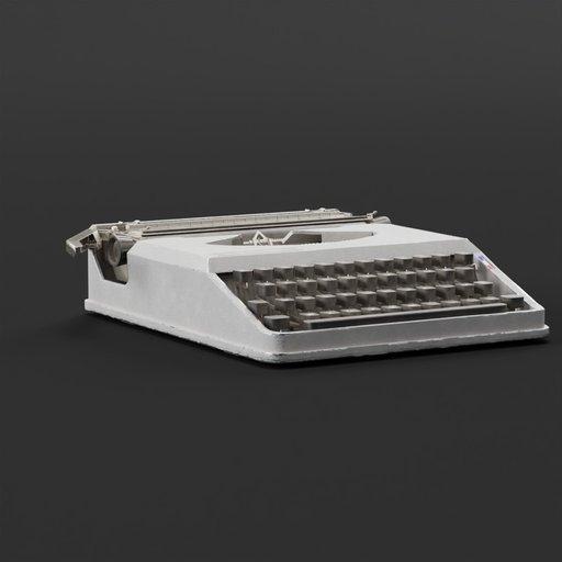 Thumbnail: Hermes baby typewriter gray