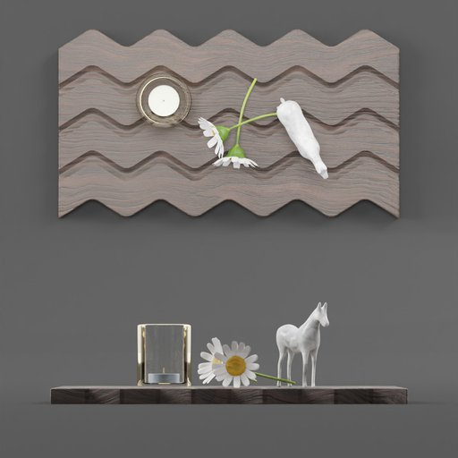 Thumbnail: Wooden Board WIth decorations