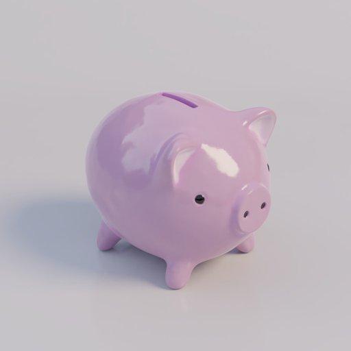 Thumbnail: porcelain piglet