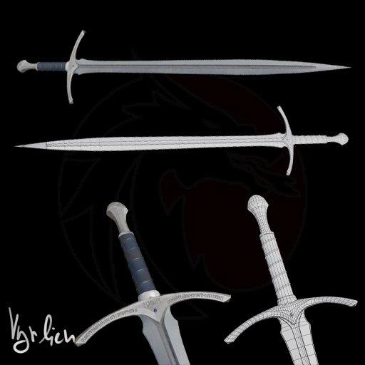 Glamdring sword