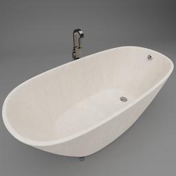 Thumbnail: Soaking bathtub modern