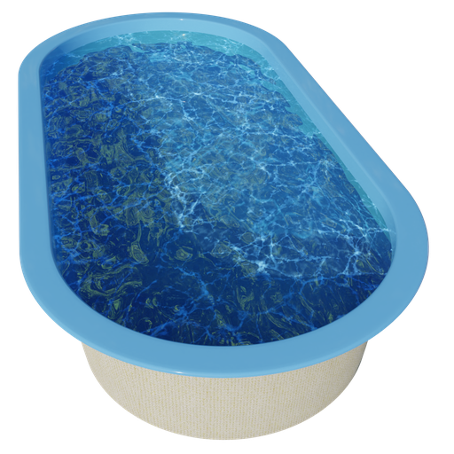 Thumbnail: Swimming pool - 5.1 x 2.6 x 1 - dw21a1b