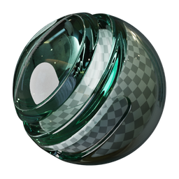 Thumbnail: Glass with green side