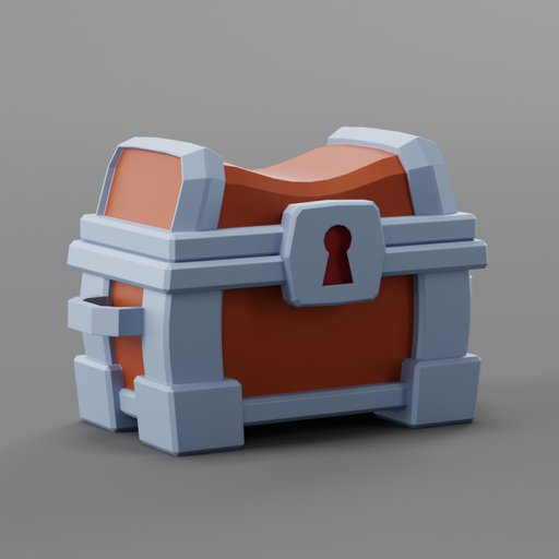 Thumbnail: Lowpol Cartoon Chest