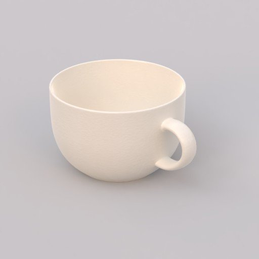 Thumbnail: big white porcelain mug