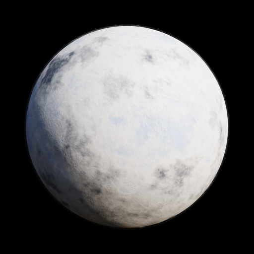Thumbnail: SciFi Ice Planet